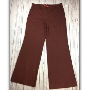 Cartonnier AnthropologieWide LegPants WineBrown 14
